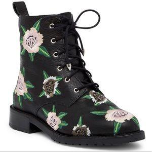 Rebecca Minkoff Leather Combat Boots